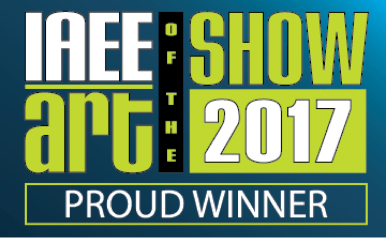 This year, CadmiumCD took first place in the IAEE Art of the Show Most Innovative Use of Technology category for their work with the WVC 89th Annual Conference.