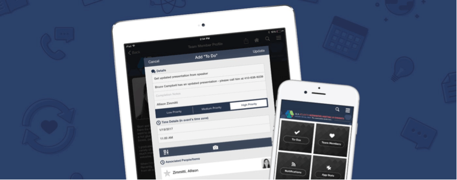 CadmiumCD launched an enhanced version of the eventScribe App called eventScribe Boost. The app gave meeting planners, speakers, and staffan extra layer of toolsthat delivered a more relevant experience to each stakeholder.