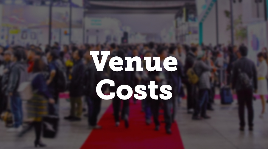 The size of your event venue will strongly influence the overall budget. According to the report, 36% of event planners spend most of their event funds on the venue, so let it be the first item in the budget calculation. If you want to raise awareness, then you probably need a bigger place to present a brand. But if you just want to be present at the industry fair to meet a few clients, don't waste too much money on the venue.