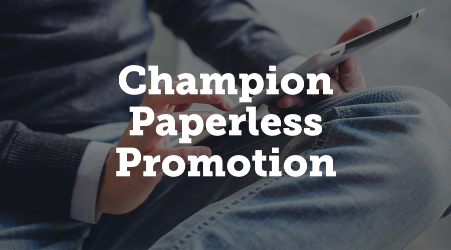 As deforestation remains a worrying global issue, with billions of trees felled each year for urbanization, timber and paper products and more, you can do your bit to battle this issue by championing paperless promotion.