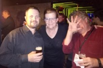 No pictures! R.K. McSwain, Nancy Johnson and Robert