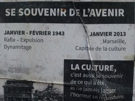 Affiche mémoire 3 - quartier Saint-Jean - Marseille 2e
