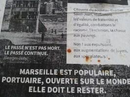 Affiche mémoire 4 - quartier Saint-Jean - Marseille 2e
