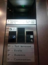 Intérieur 1 - La Cité radieuse - Le Corbusier Marseille