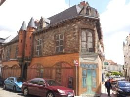 Angle de la maison Albert Londres