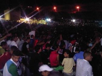 Public du concert de Cheb Khaled pour le 49e anniversaire de l'Indépendance (2011)