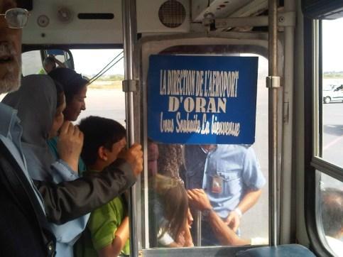 La bienvenue à l'aéroport Es Senia d'Oran (2011)