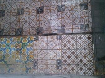 Mosaïque à l'entrée du hammam, Alger