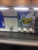 M. Chat, chat souterrain Paris 19e - 08/12/2012