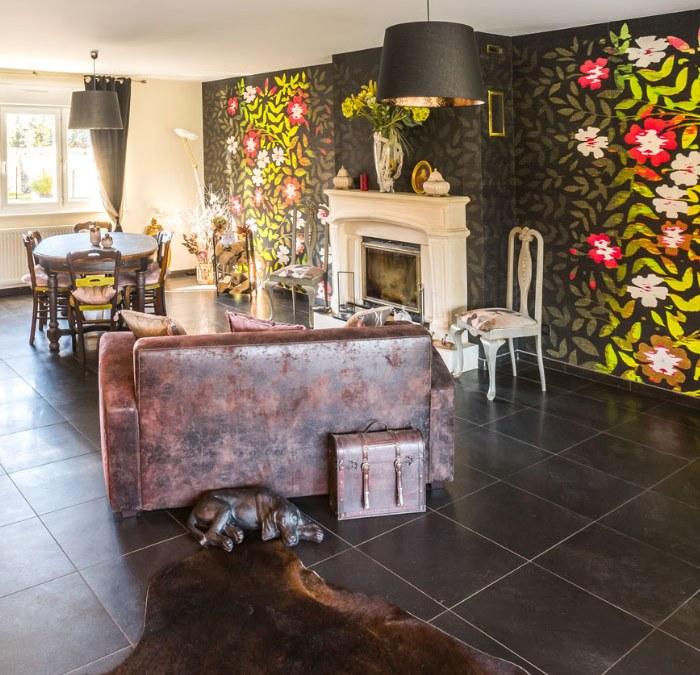 Décoration intérieur cuisine et salon