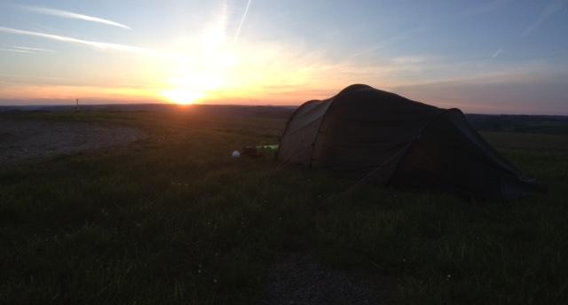 Hilleberg sunset