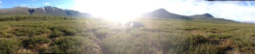 Hiking Sweden