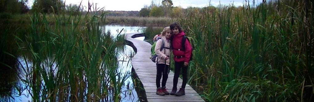 wandelen met kinderen
