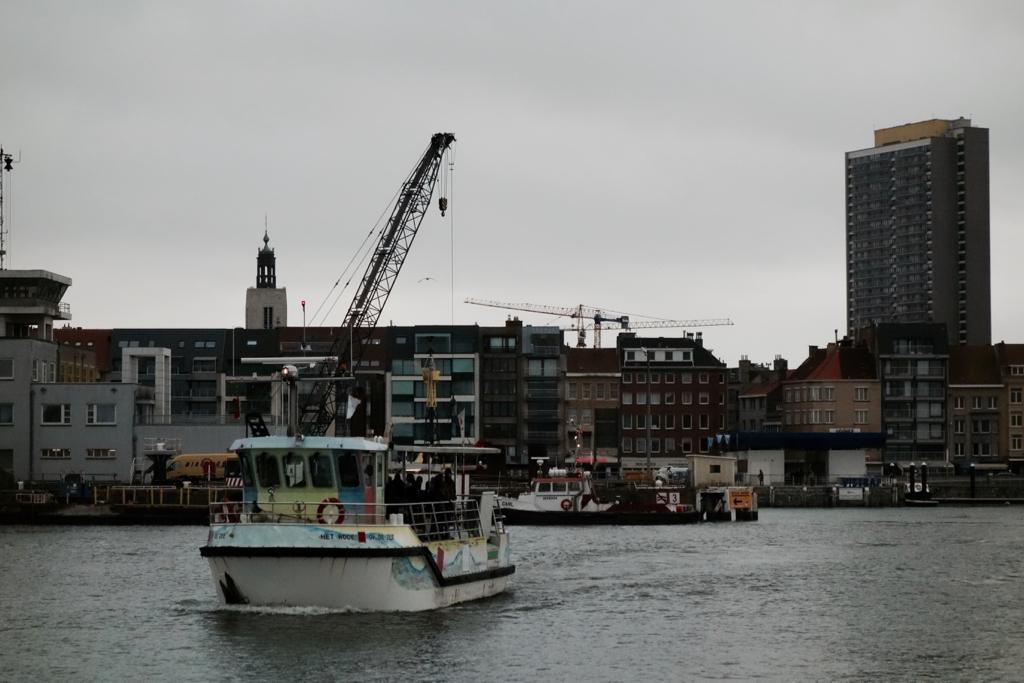 voetgangersferry Oostende