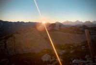 sunrise Alps