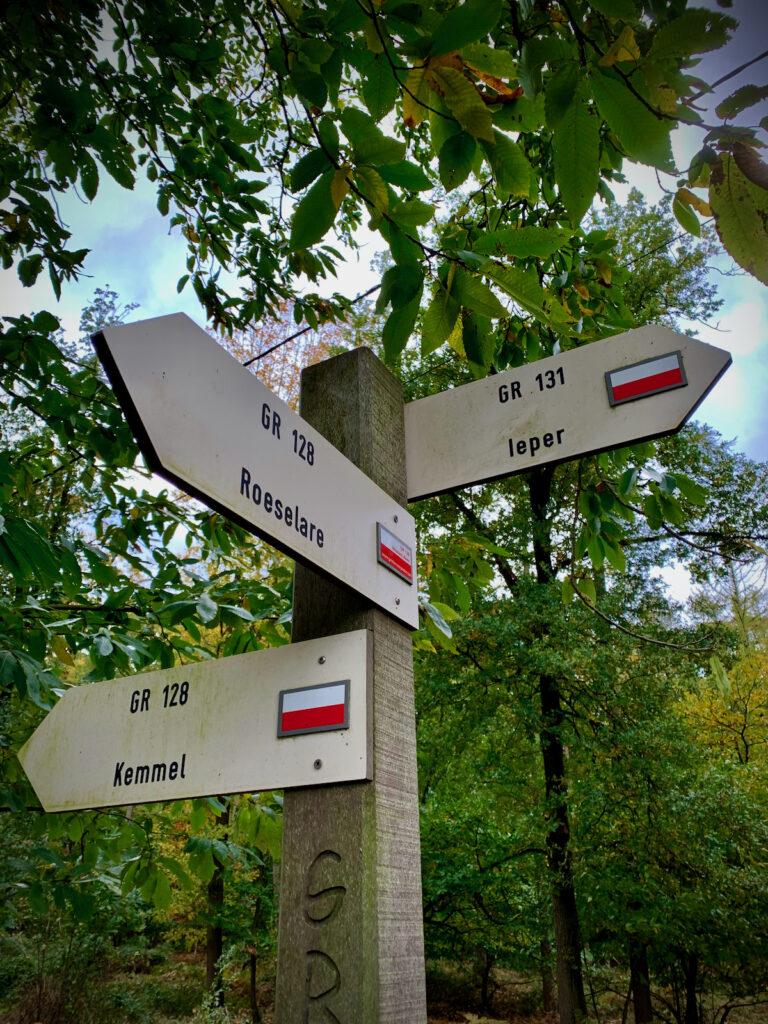 wandelboom Vlaanderenroute