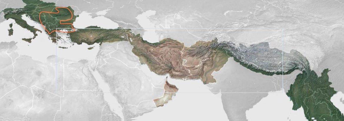 The Tethyan Mineral Belt extends over 10,000km from Asia to the Balkans and is comparable to the Andes and Western US & Canada yet significantly less explored