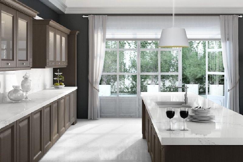 white quartz countertops caesarstone