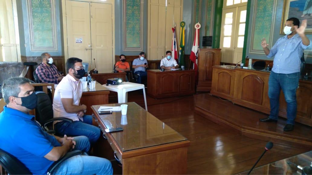 Após de denúncia, Comissão da Câmara de Acompanhamento dos Empreendimentos de Caetité se reúne com a coordenação estadual da Rede SineBahia