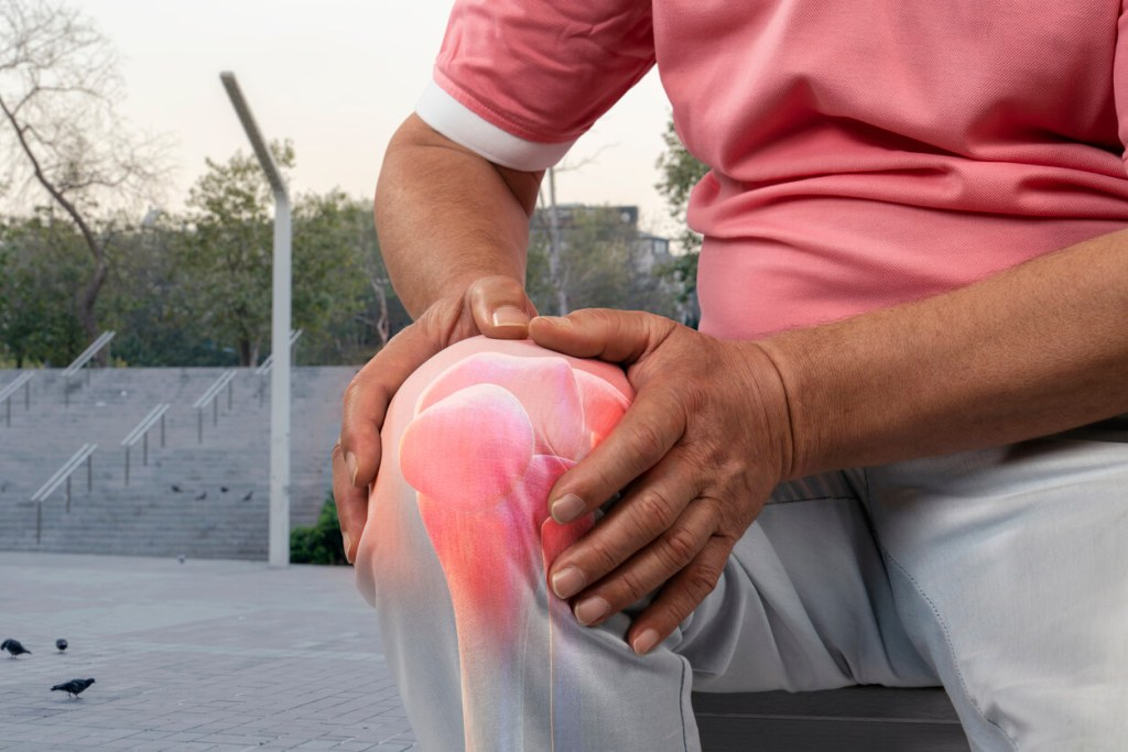 Caexs CBD for Knee Aches and Pain