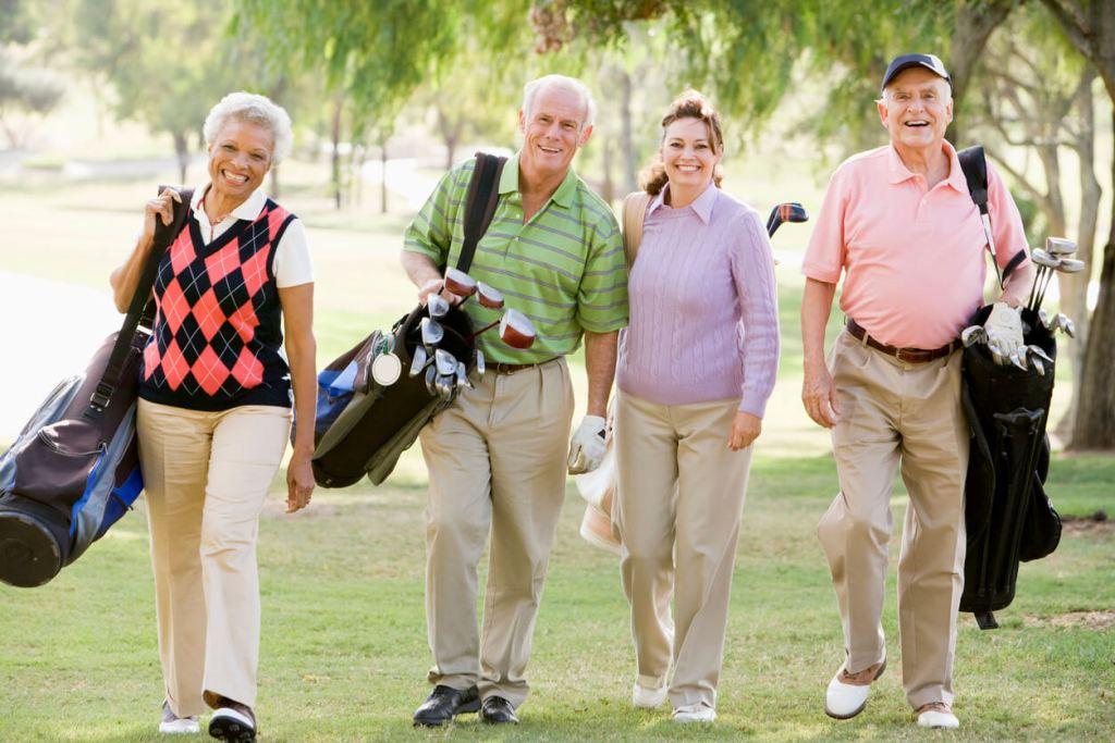 Caexs CBD for golfers