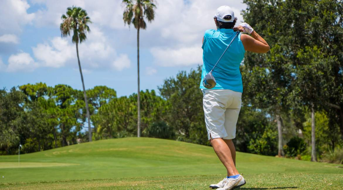 Use Caexs CBD to relive pain from golfing