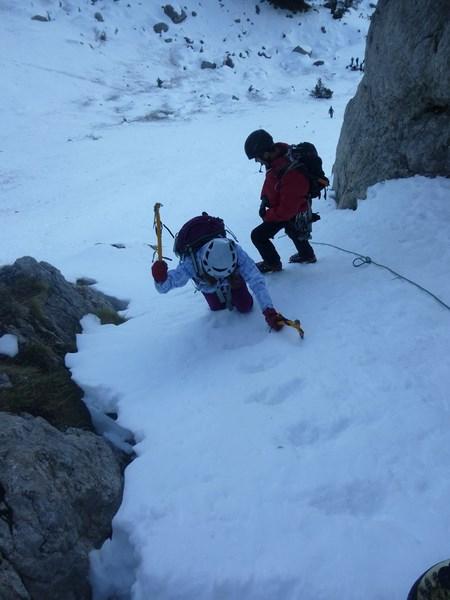 Sortie école d'aventure du club alpin de Bagnères-de-Bigorre à la montagne d'Areng