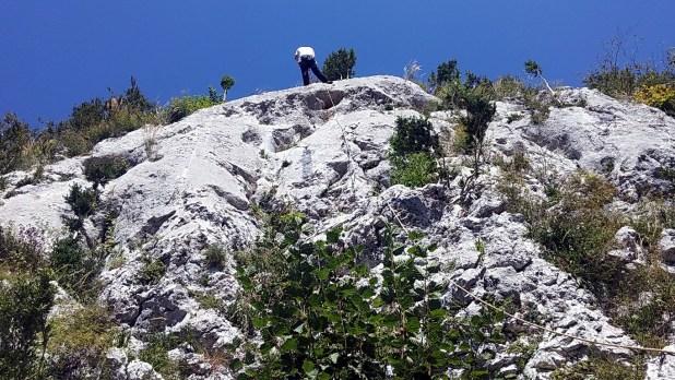 Sortie escalade à la falaise du Tucou avec le club alpin de Bagnères-de-Bigorre