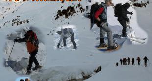 Rassemblement sport de neige à Barèges