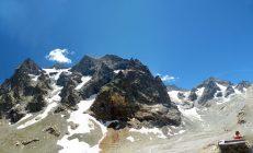 Panorama glacier Selé