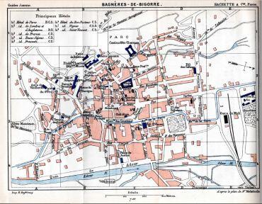 Plan de Bagnères