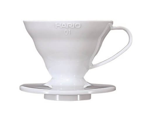 Cafetera Dripper Hario V60 01 (Acrílico)