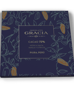 Reverso Barra 72% Cacao - Chocolates Gracia