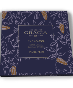 Reverso Barra 85% Cacao - Chocolates Gracia