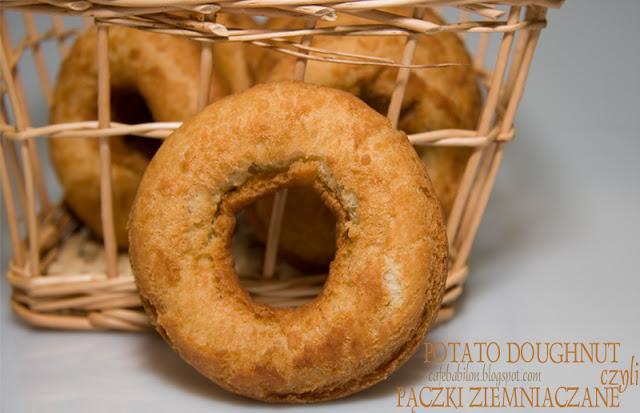 Potato doughnut czyli pączki ziemniaczane