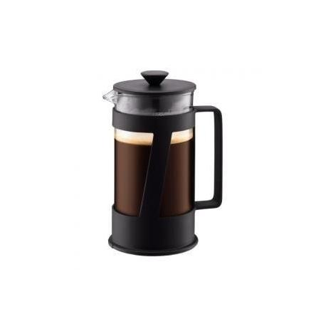 bodum crema cafetiere noire 8 tasses caron torrefacteur francais