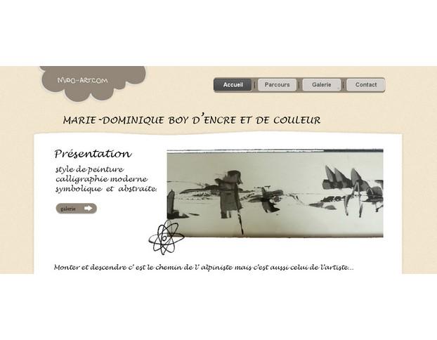 Site web domaine viticole Madiran site-mido-art-1
