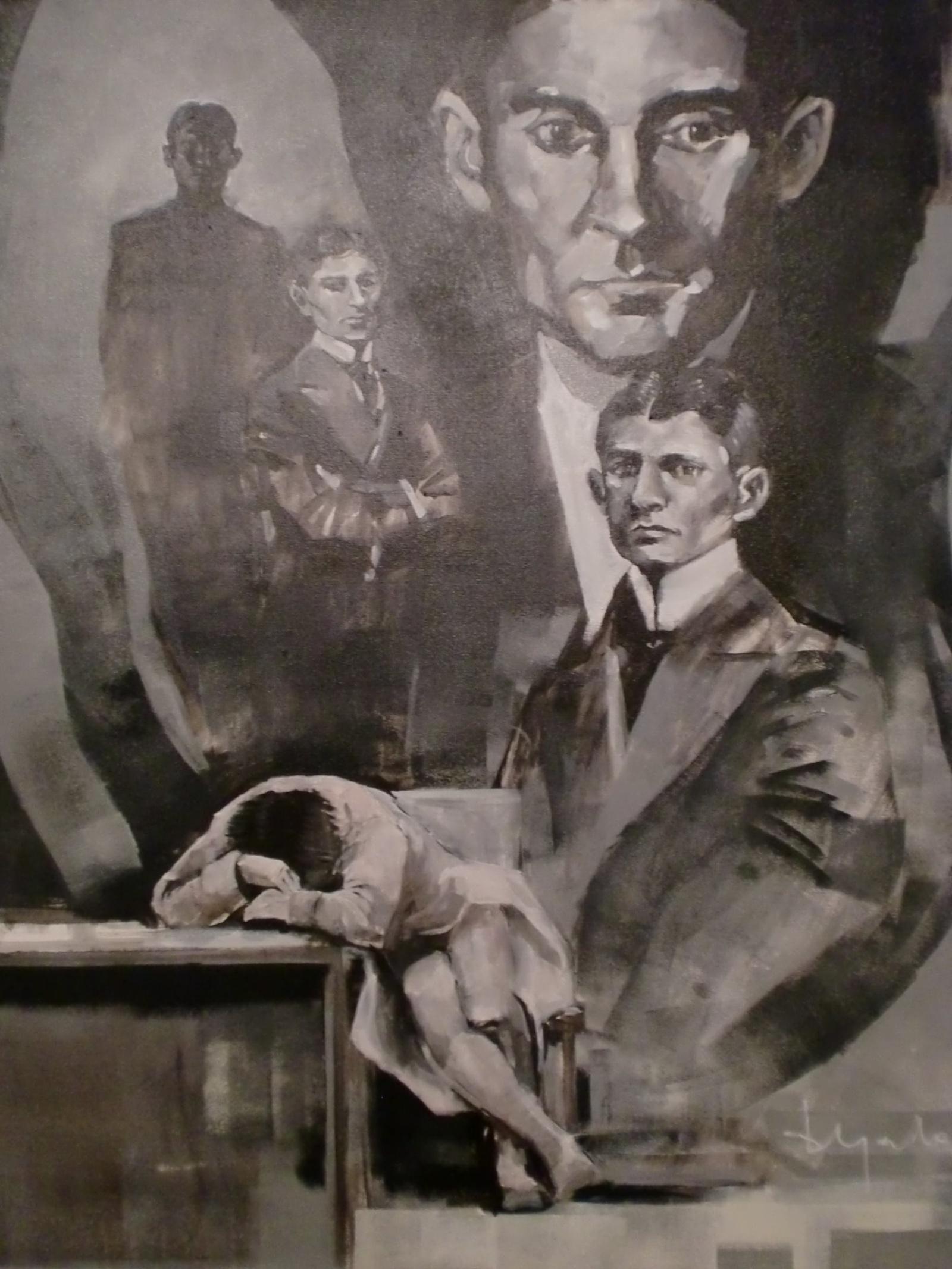 Goya lo sabía, en el interior del ser humano está la locura absoluta. Kafka lo sabía, en el exterior está la locura total.