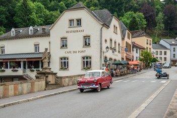 Café-Restaurant Du Pont Vianden Luxemburg-von-der-brücke
