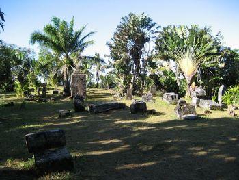 Le cimetière de pirates de Sainte Marie