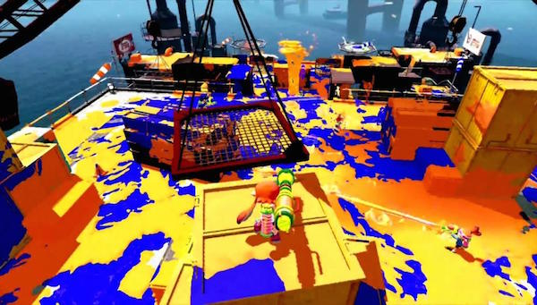 Splatoon, une future référence du fun en multijoueur online. Mark my words