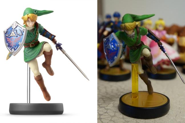 Link se casse la figure et écope d'un plastique jaune dégueulasse