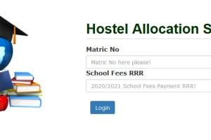 UNN Hostel Application Portal for Freshmen 2021/2022