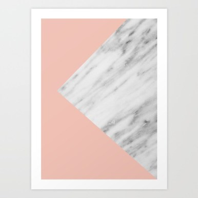 Pink Marble collage