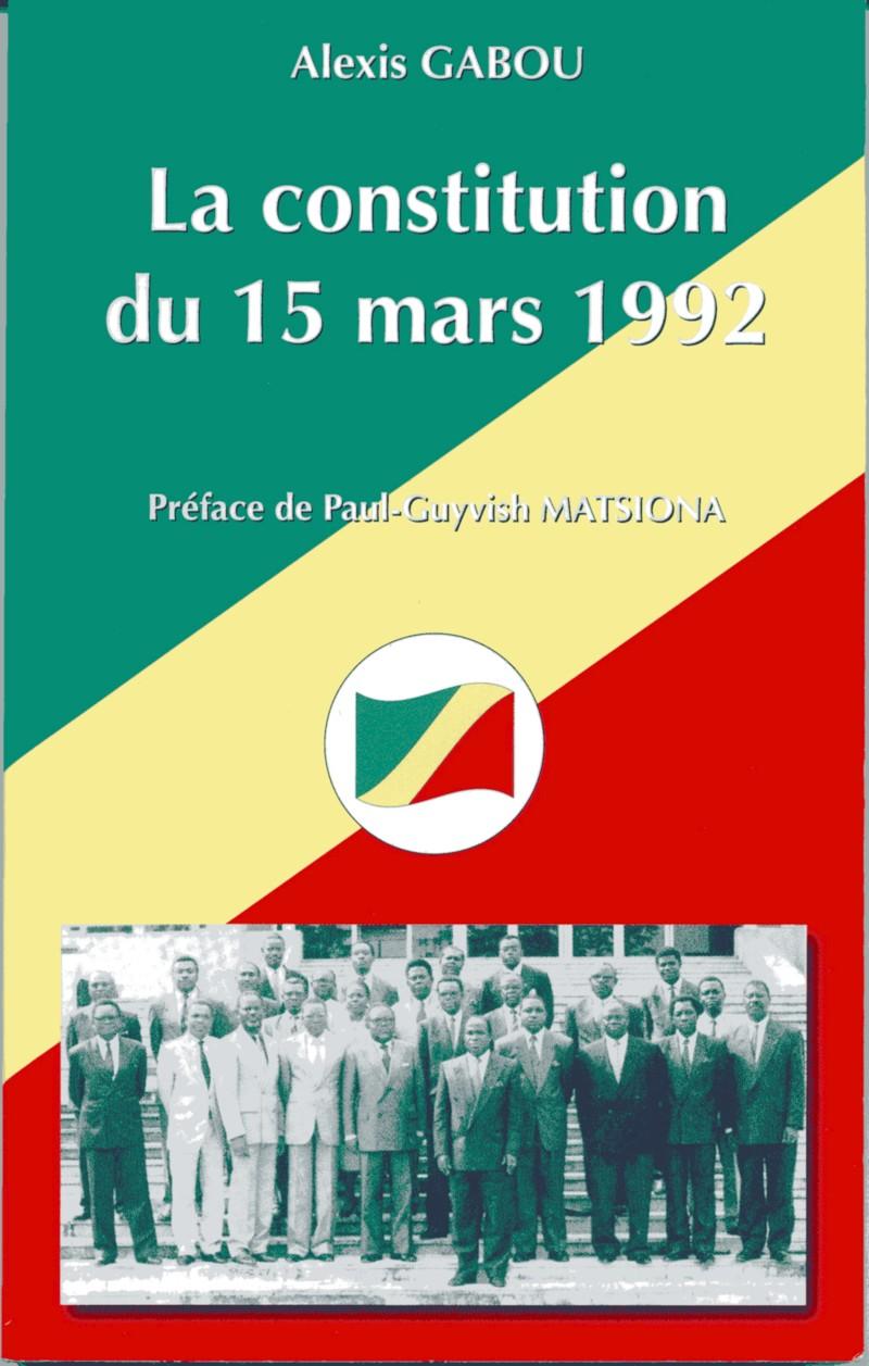 6ème Constitution de la République du Congo – 15 mars 1992