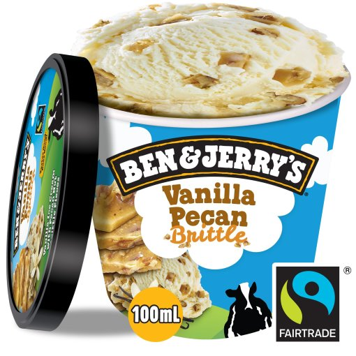 ben & jerry's vanilla pecan brittle 100ml