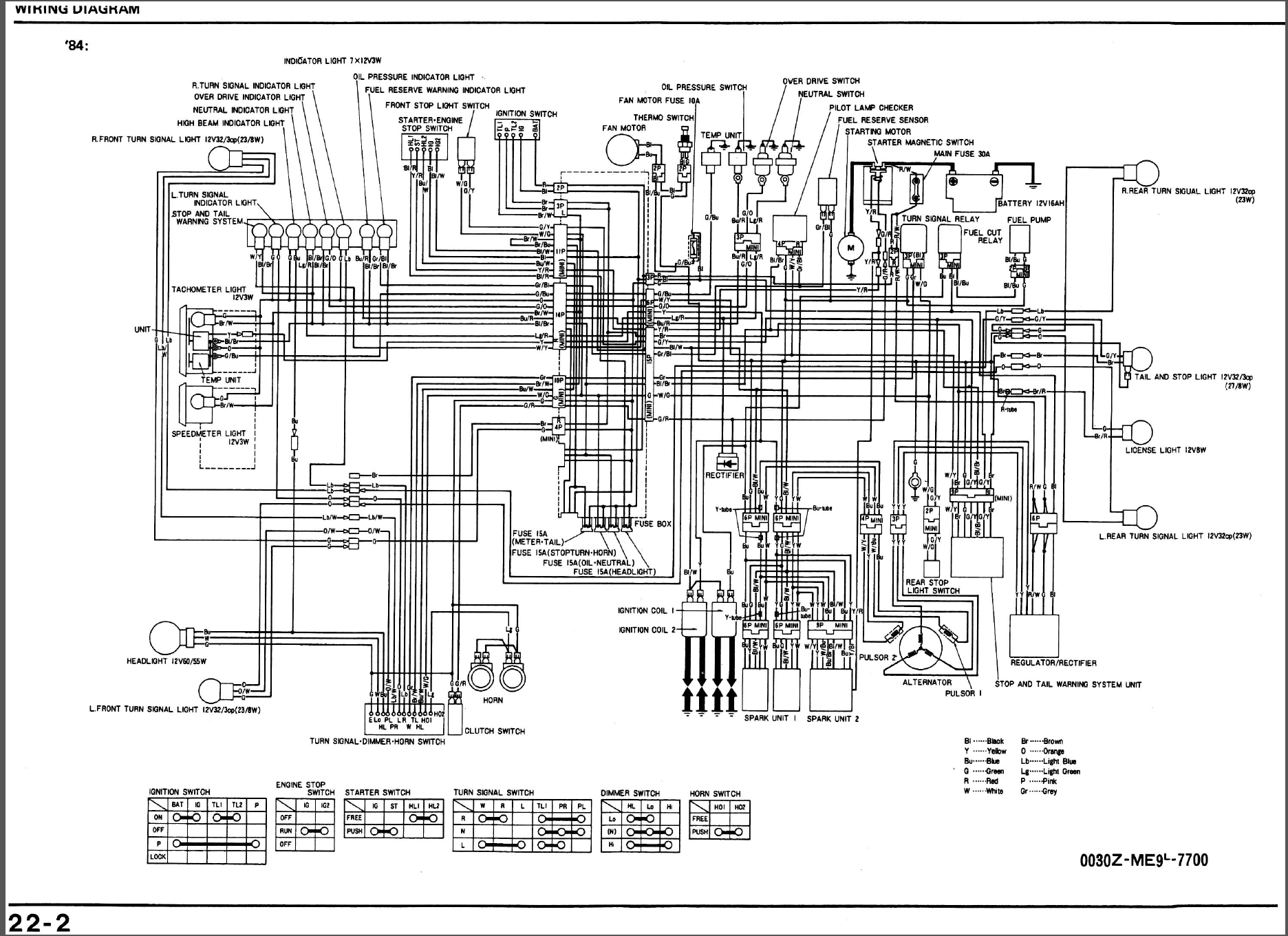 Honda Shadow 600 Wiring Diagram