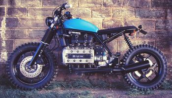 BMW K100 Street Tracker by Ed Turner Motorcycles