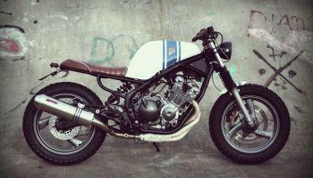 Yamaha XJ600 Diversion Street Tracker - Wrench Kings 1