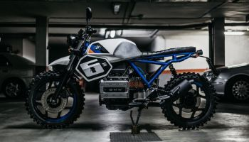 BMW K75 Scrambler by The FoundryMC